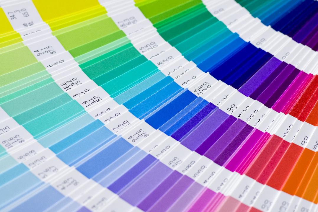 pantone vzorník barev label design